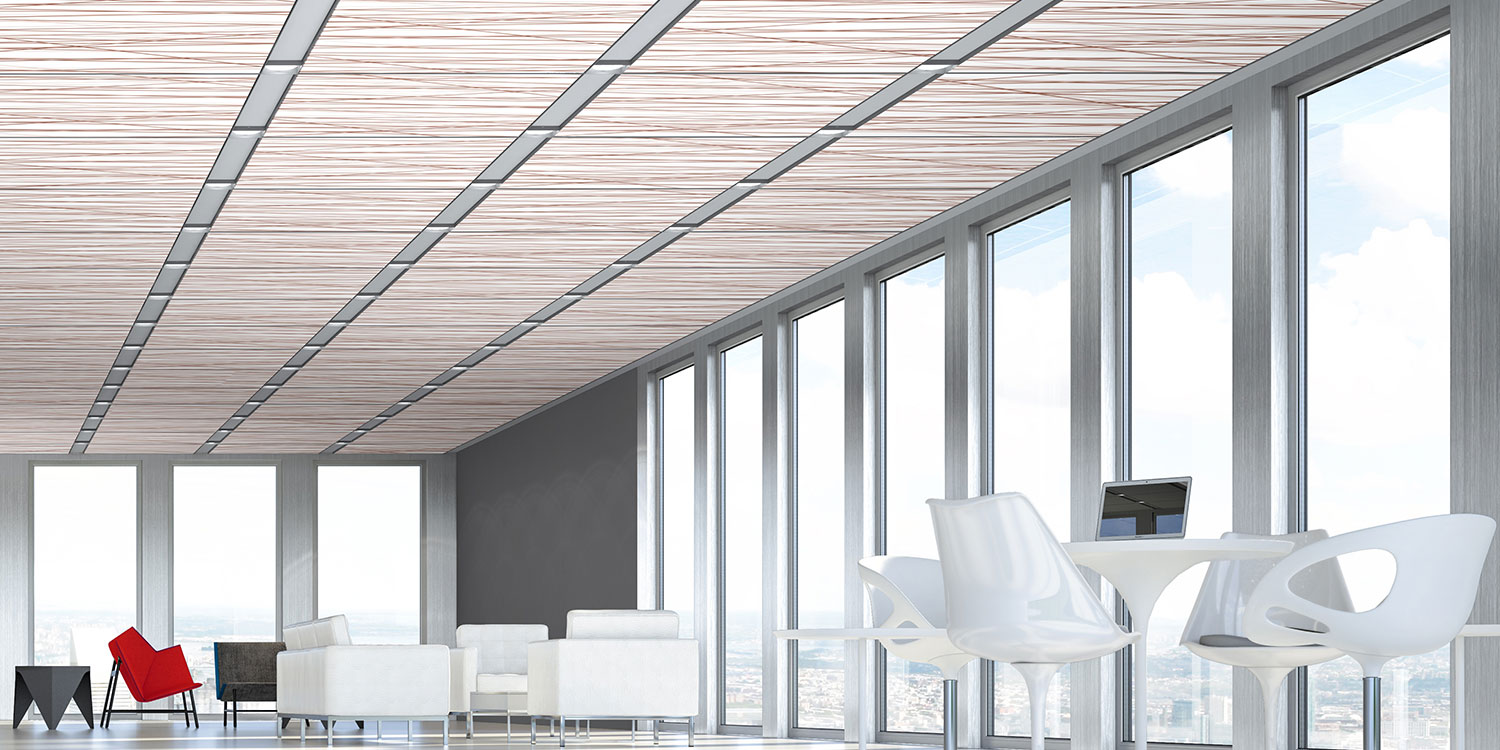 Techstyle Graphic Acoustical Ceilings Hunter Douglas Architectural