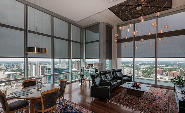 Window Coverings - The Vue at Lake Eola