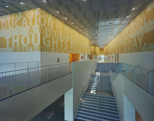 L B Landry High School Hunter Douglas Architectural