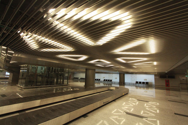 Vnukovo airport hunter douglas architectural
