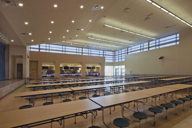 Lady Bird Johnson Middle School Hunter Douglas Architectural