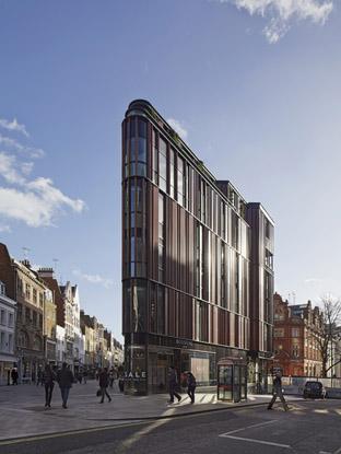south molton street building - hunter douglas architectural