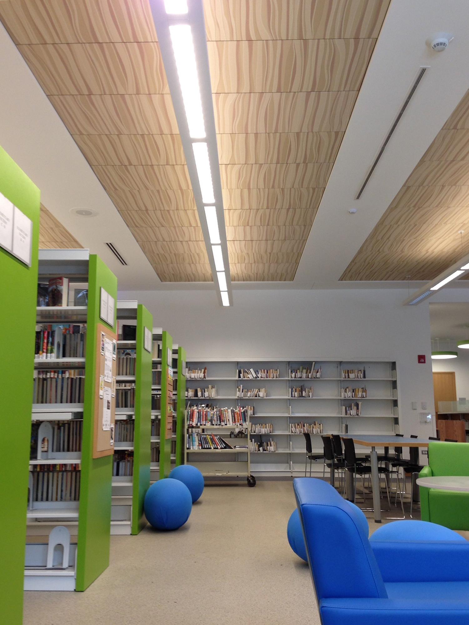 Edgewater Library Hunter Douglas Architectural
