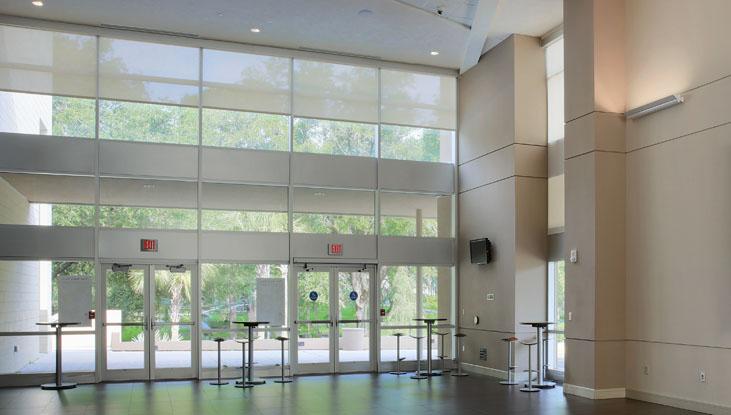 Santa Fe College Fine Arts Hall Hunter Douglas Architectural