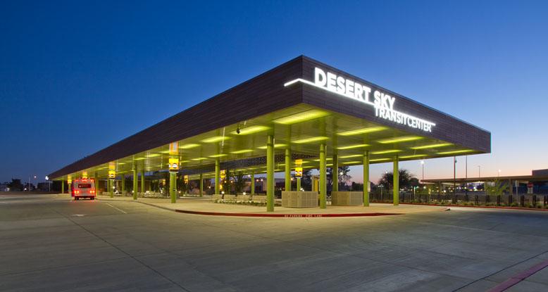 Desert Sky Transit Center Hunter Douglas Architectural