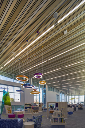 King Road Branch Library Hunter Douglas Architectural