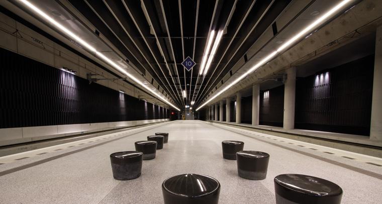 Delft Train Station Hunter Douglas Architectural